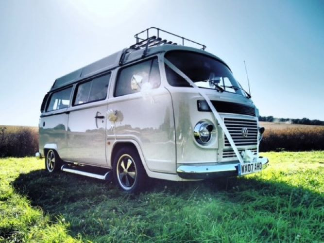 A VW T2 Brazilian Campervan called Mabel and for hire in arundel, West Sussex