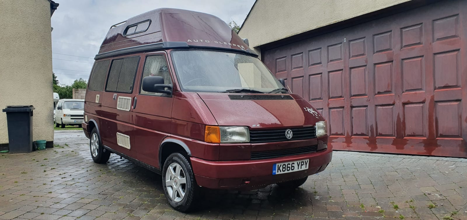 A VW T4 Campervan called Midnight-sun and for hire