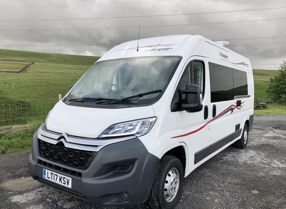 A Citroen Motorhome called Pexzes and for hire in Rochdale, Lancashire