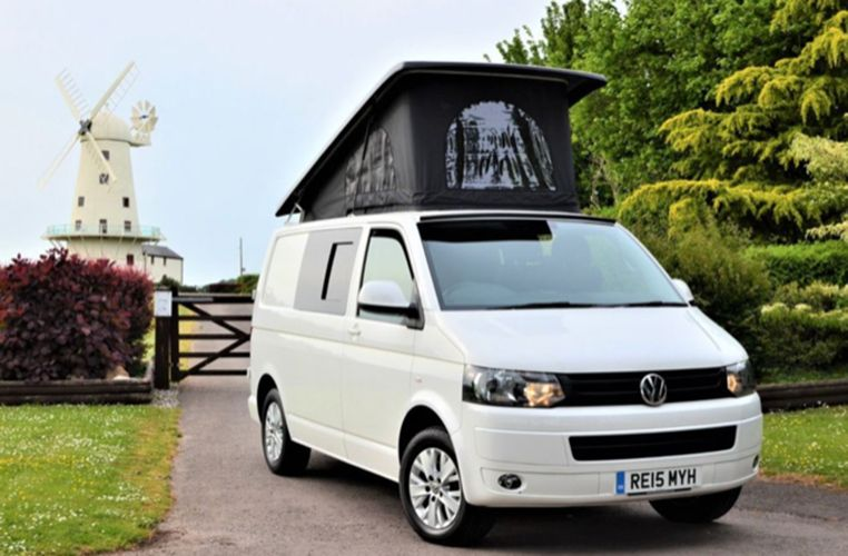 A VW T5 Campervan called Joe and for hire in barry, Glamorgan