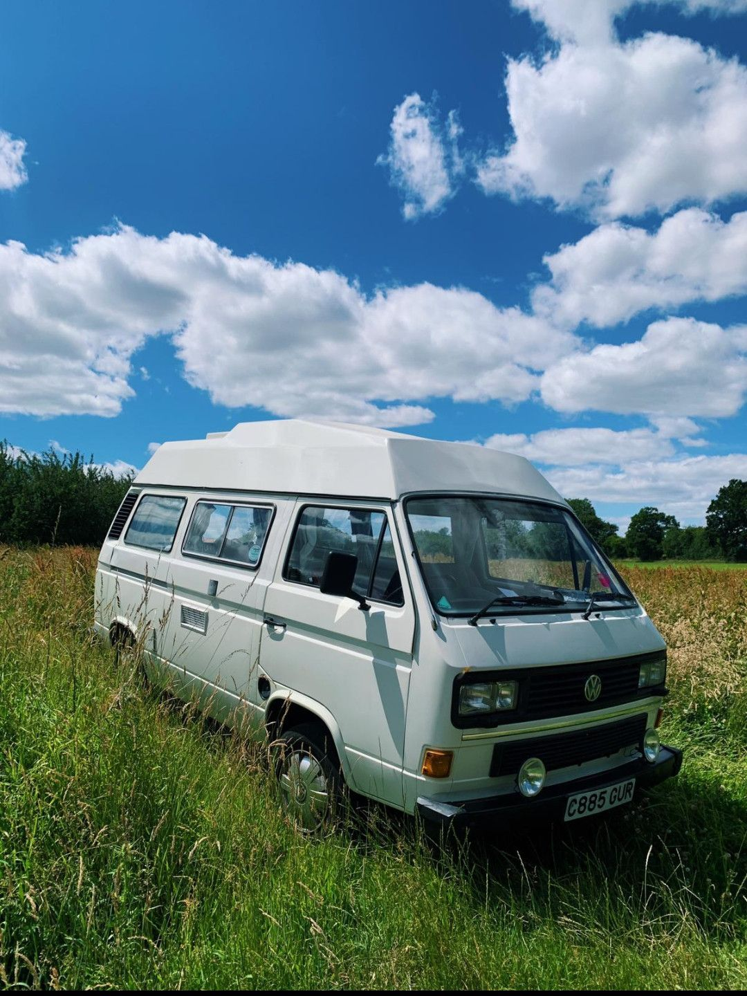 A VW T3 Campervan called Orlando and for hire in london, London