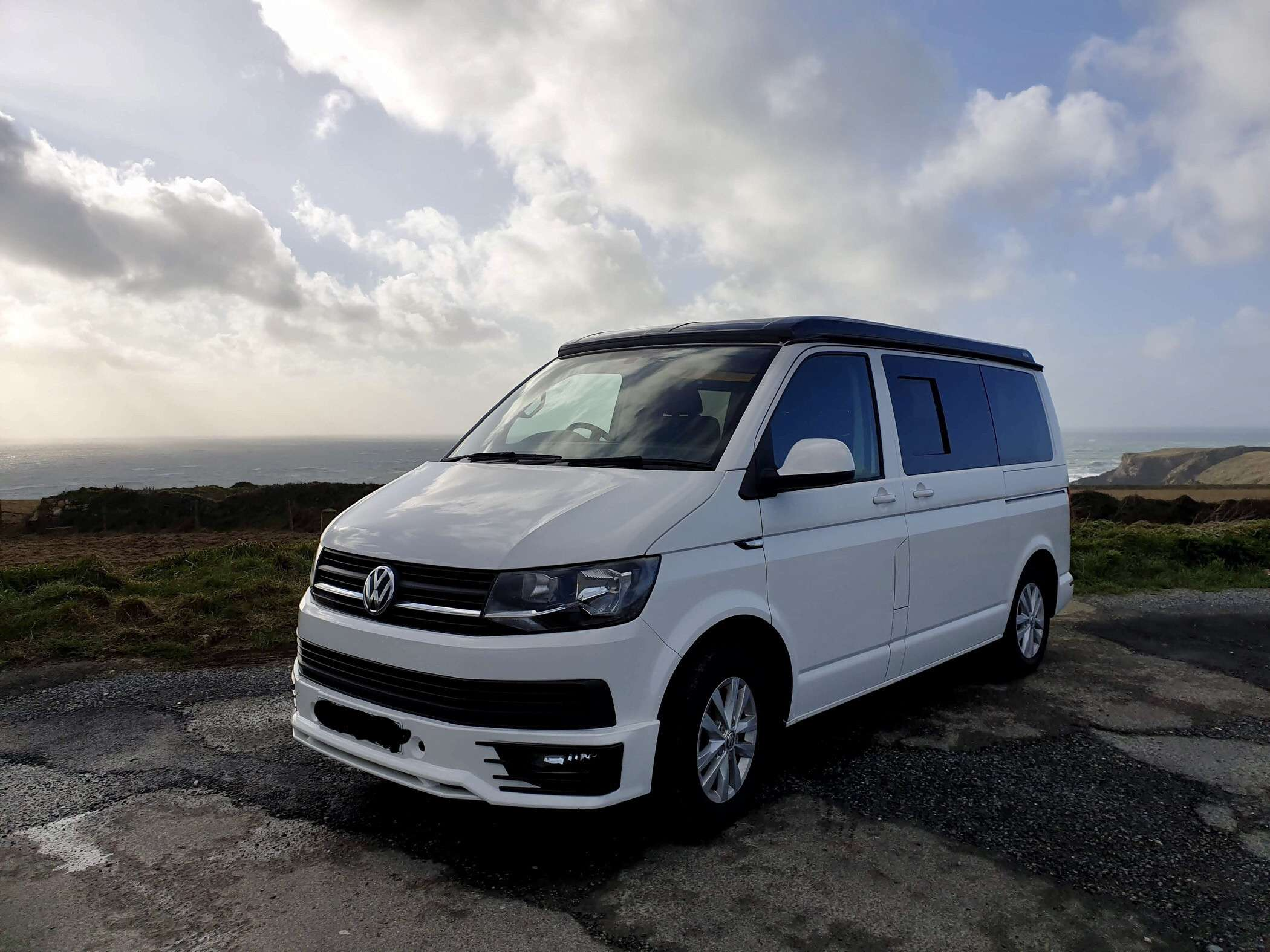 A VW T6 Campervan called Gertie and for hire in Witley, Surrey