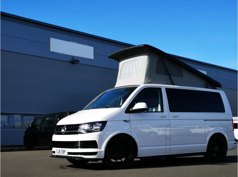A VW T5 Campervan called Monte and for hire in birtley, Durham