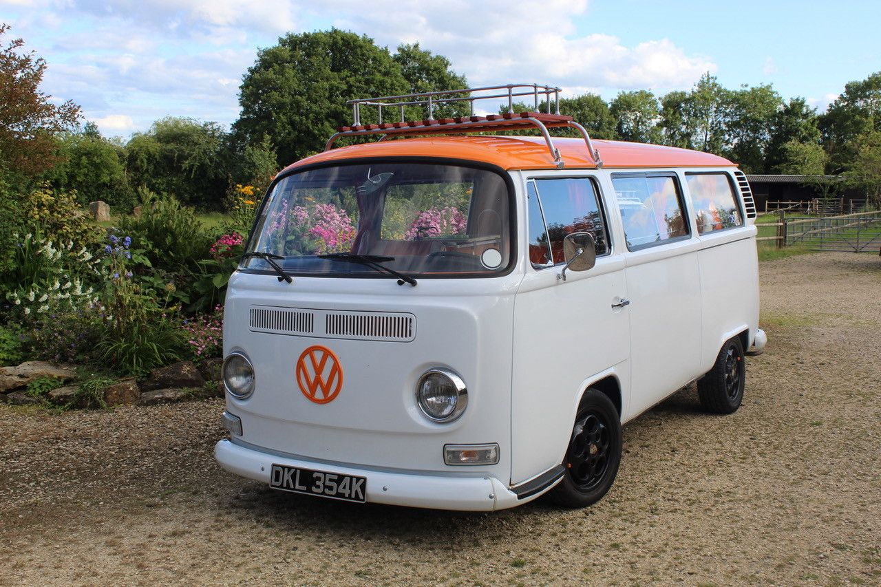 A VW T2 Classic Campervan called Our-Stanley and for hire in stourbridge, West Midlands