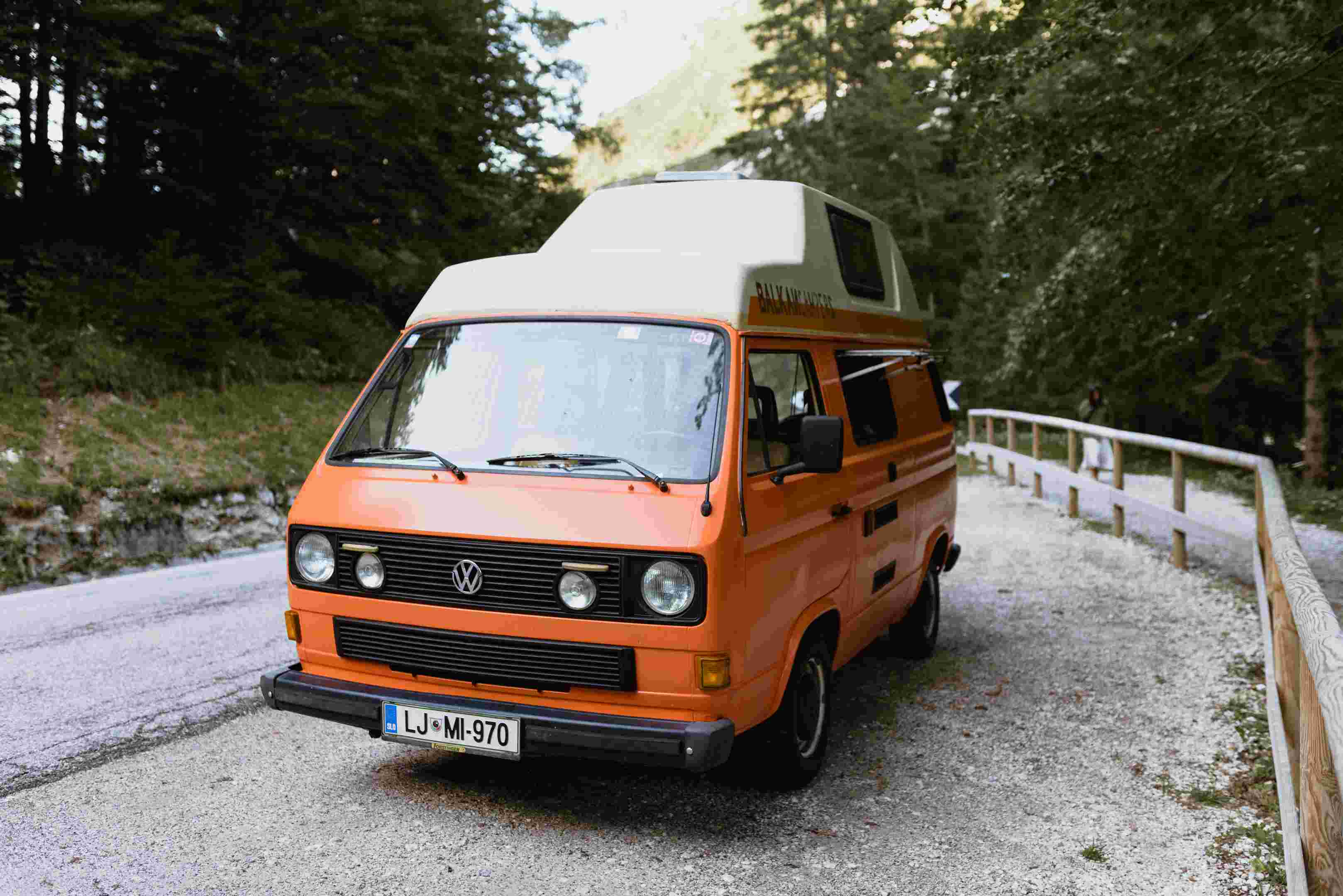 A VW T3 Campervan called Grga and for hire in ljubljana, Slovenia