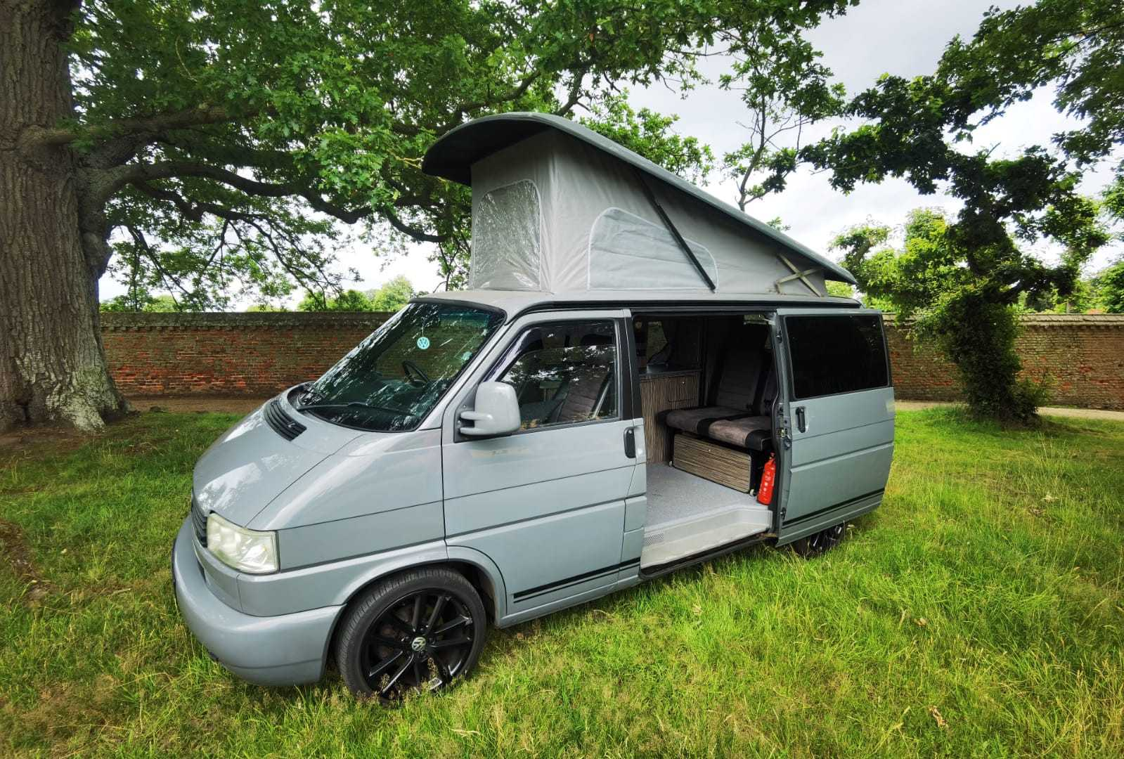 A VW T4 Campervan called Kiki and for hire in norwich, Norfolk