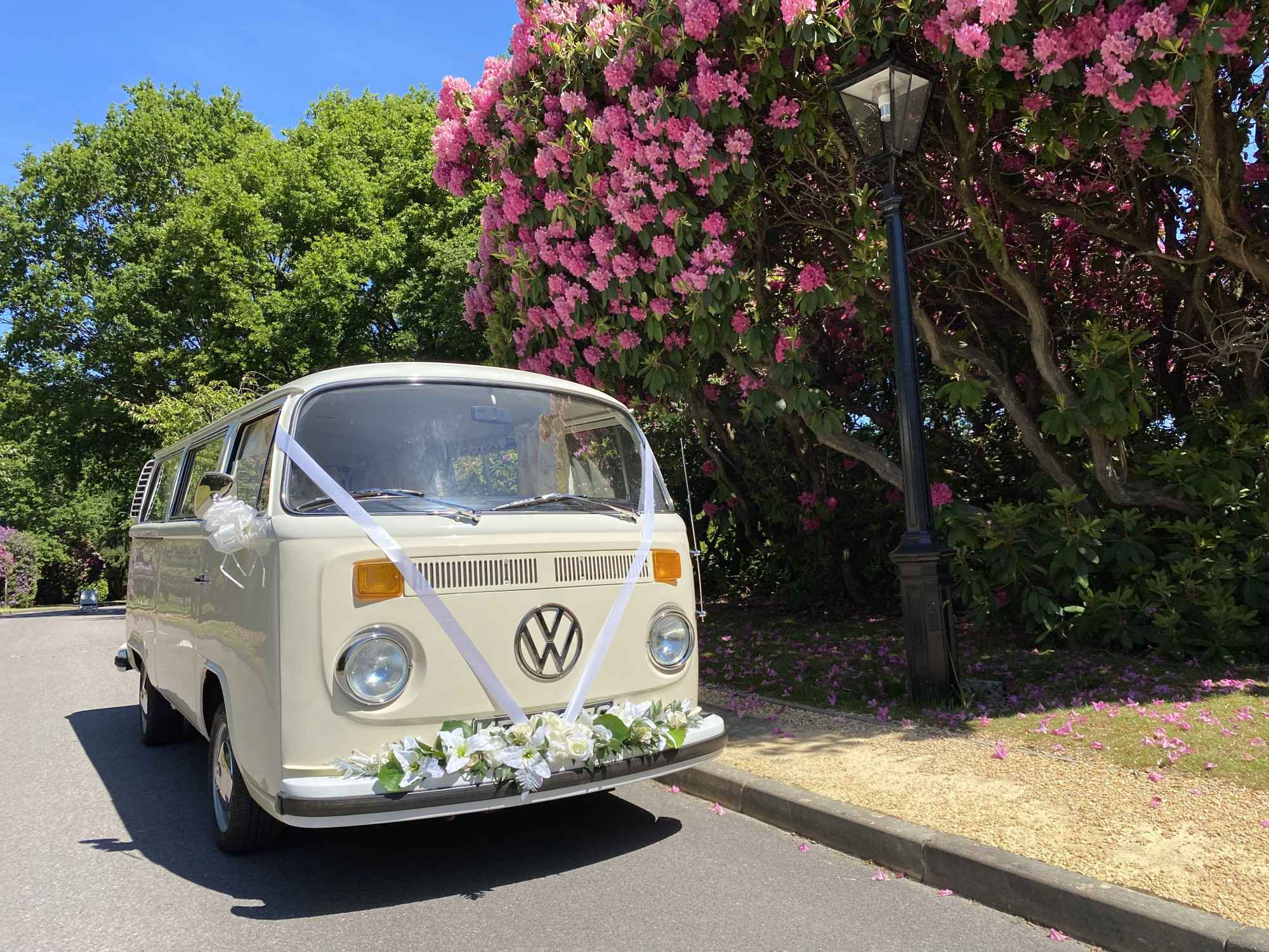 A VW T2 Classic Campervan called Bella and Bella for hire in warfield, Berkshire