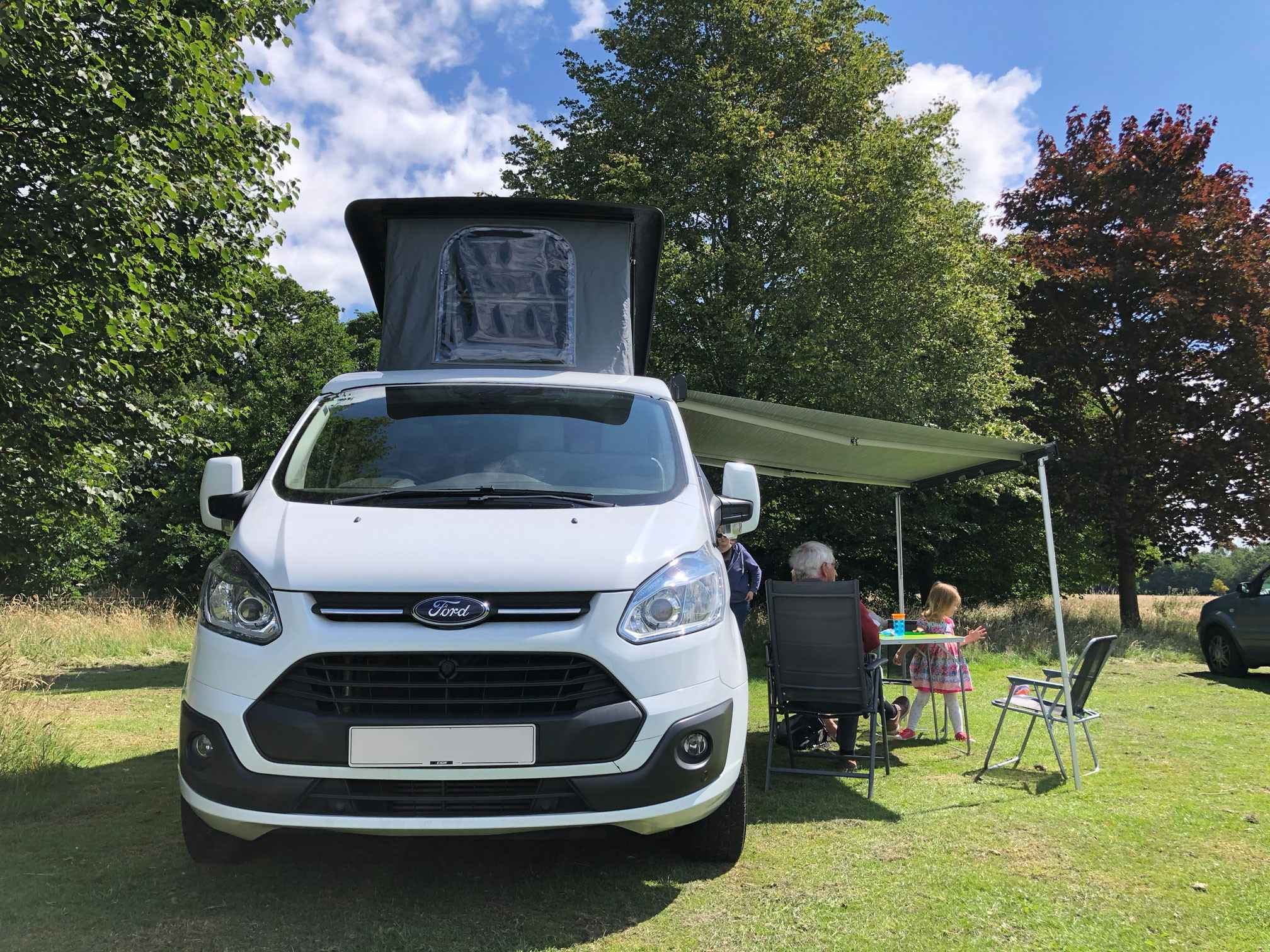 A Ford Campervan called Marley and for hire