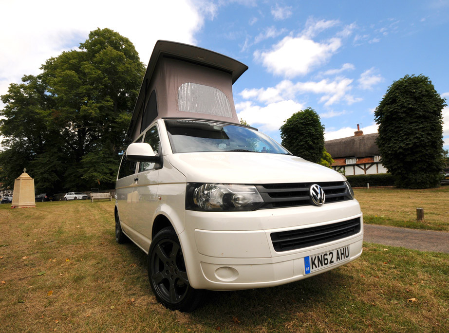 A VW T5 Campervan called Kenny and for hire in Bracknell, Berkshire