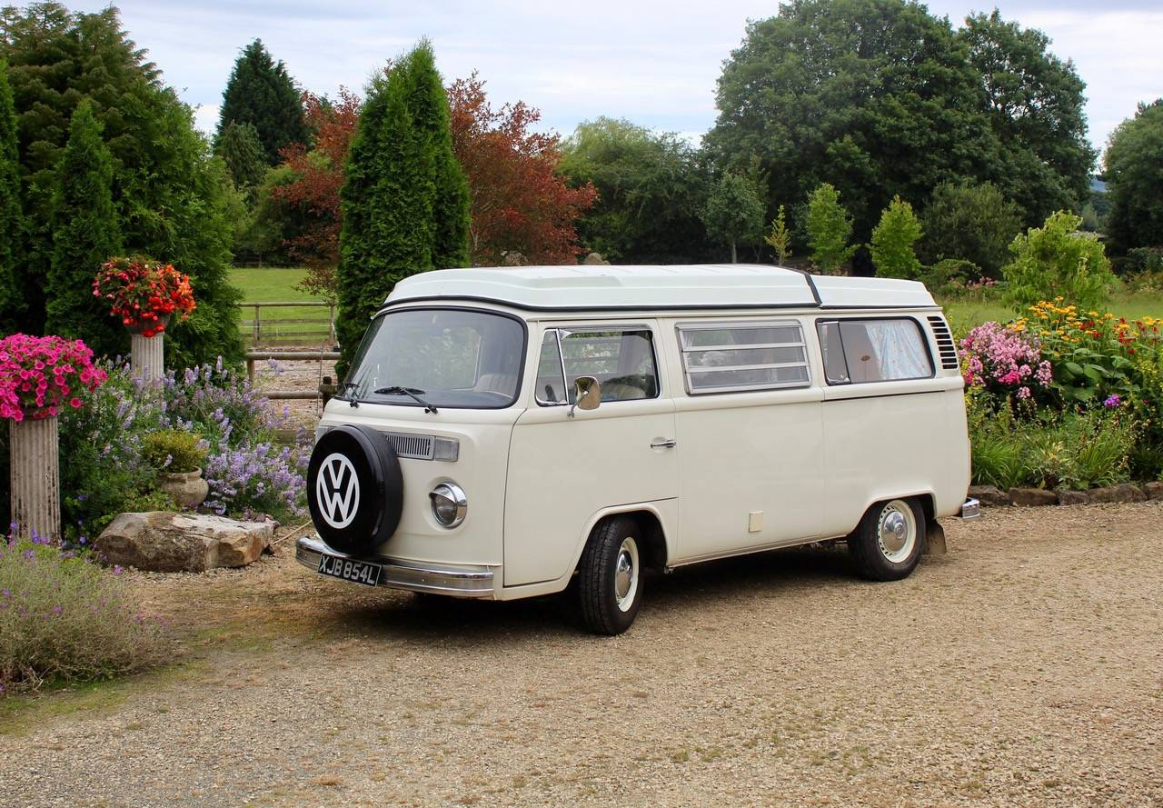 A VW T2 Classic Campervan called Lady-Lily and for hire in kidderminster, West Midlands
