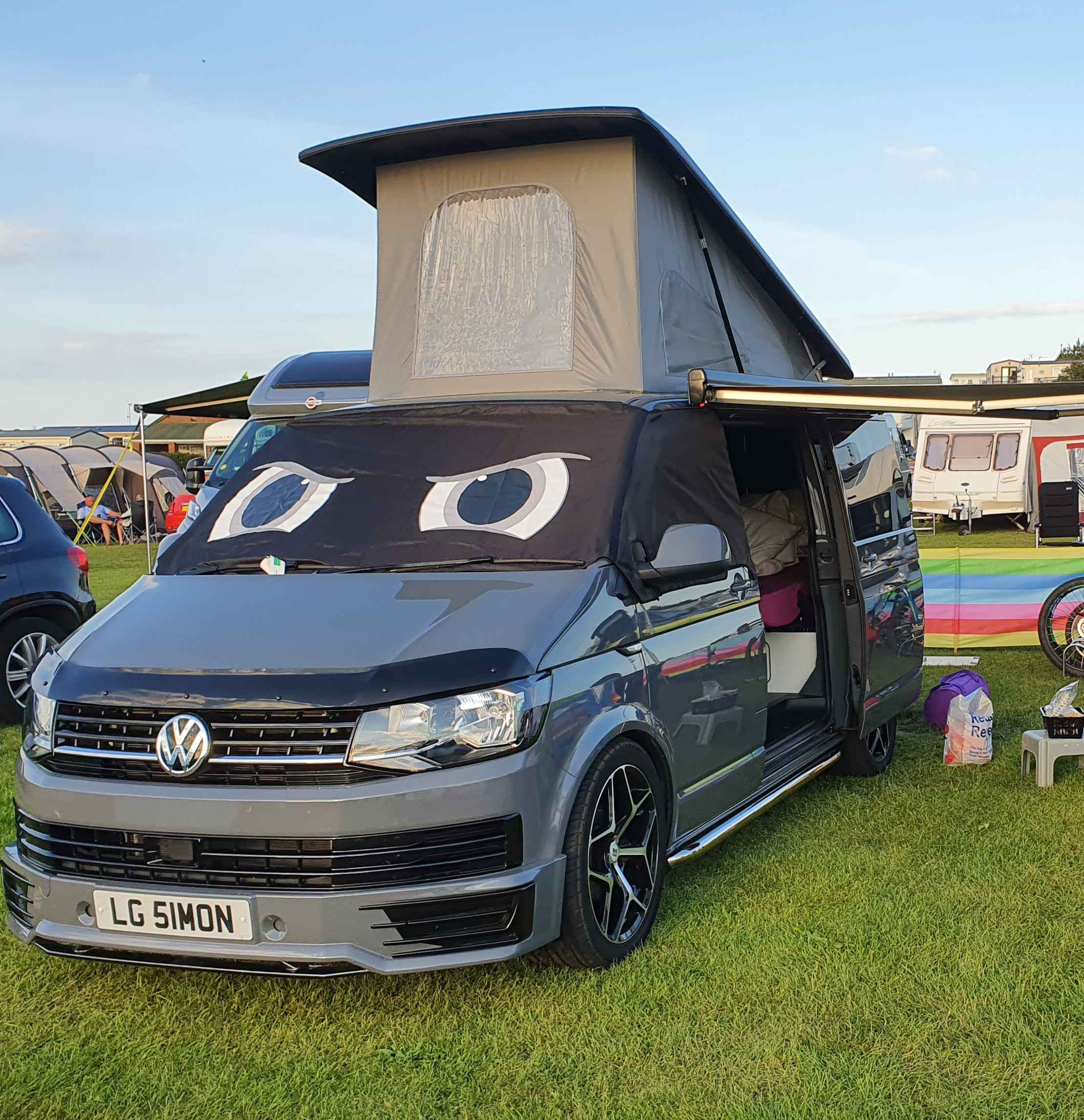 A VW T6 Campervan called Borris and for hire in Cambridgeshire, Cambridgeshire