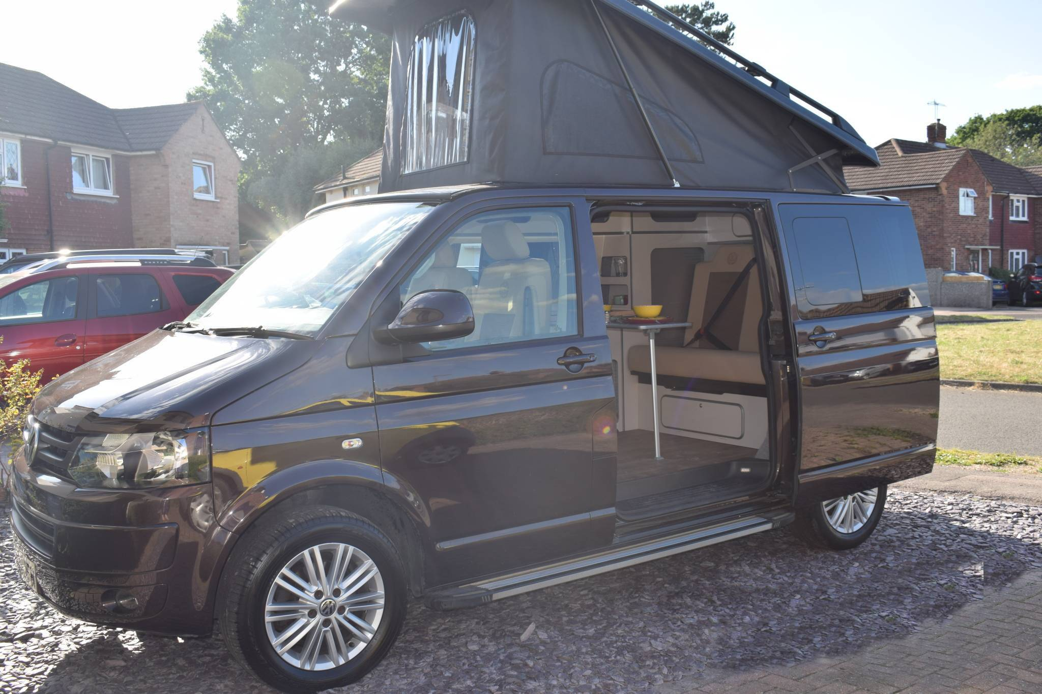A VW T5 Campervan called BertieT and for hire in horley, Surrey