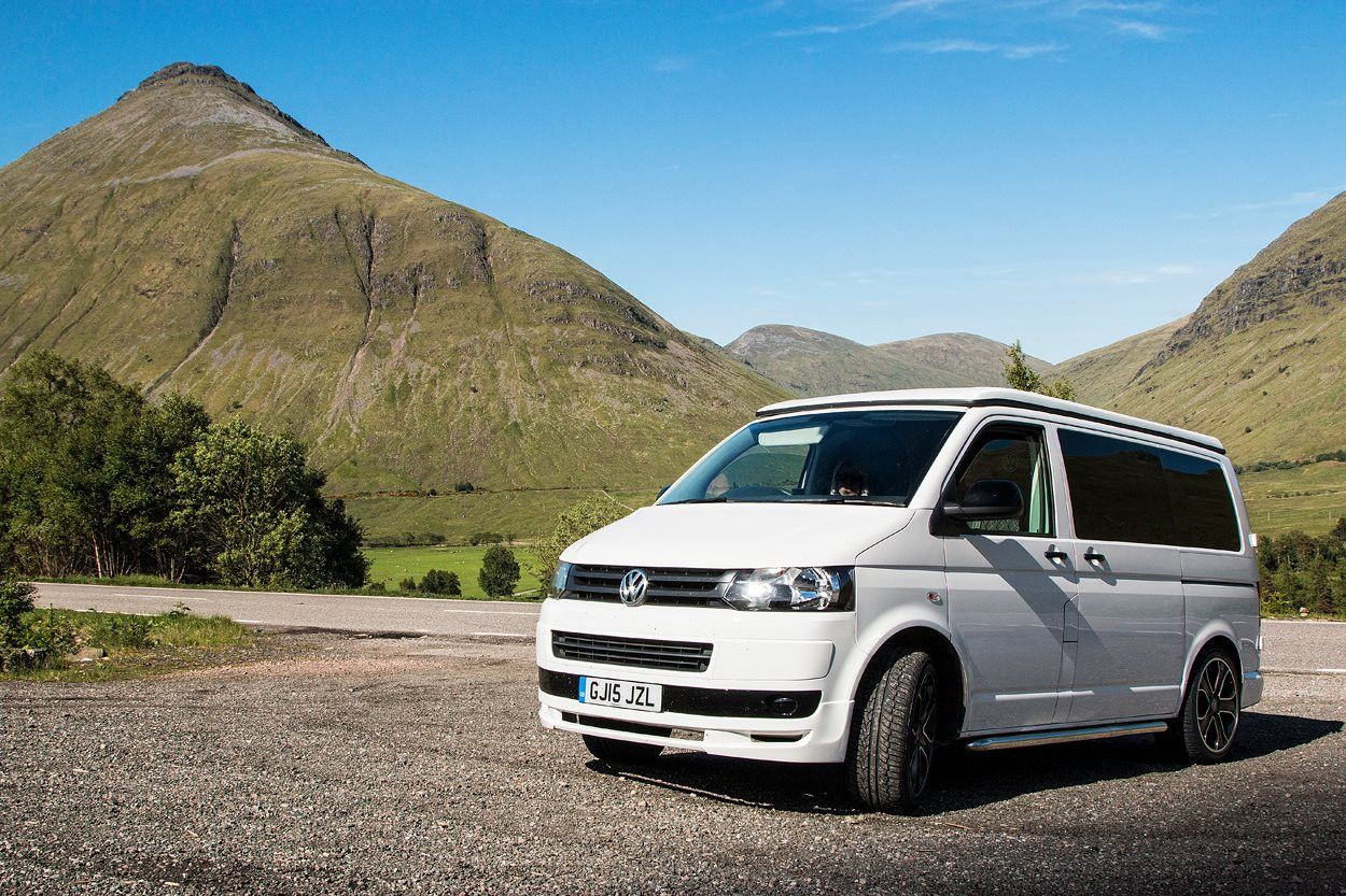 A VW T5 Campervan called Kontiki and for hire in derby, Derbyshire