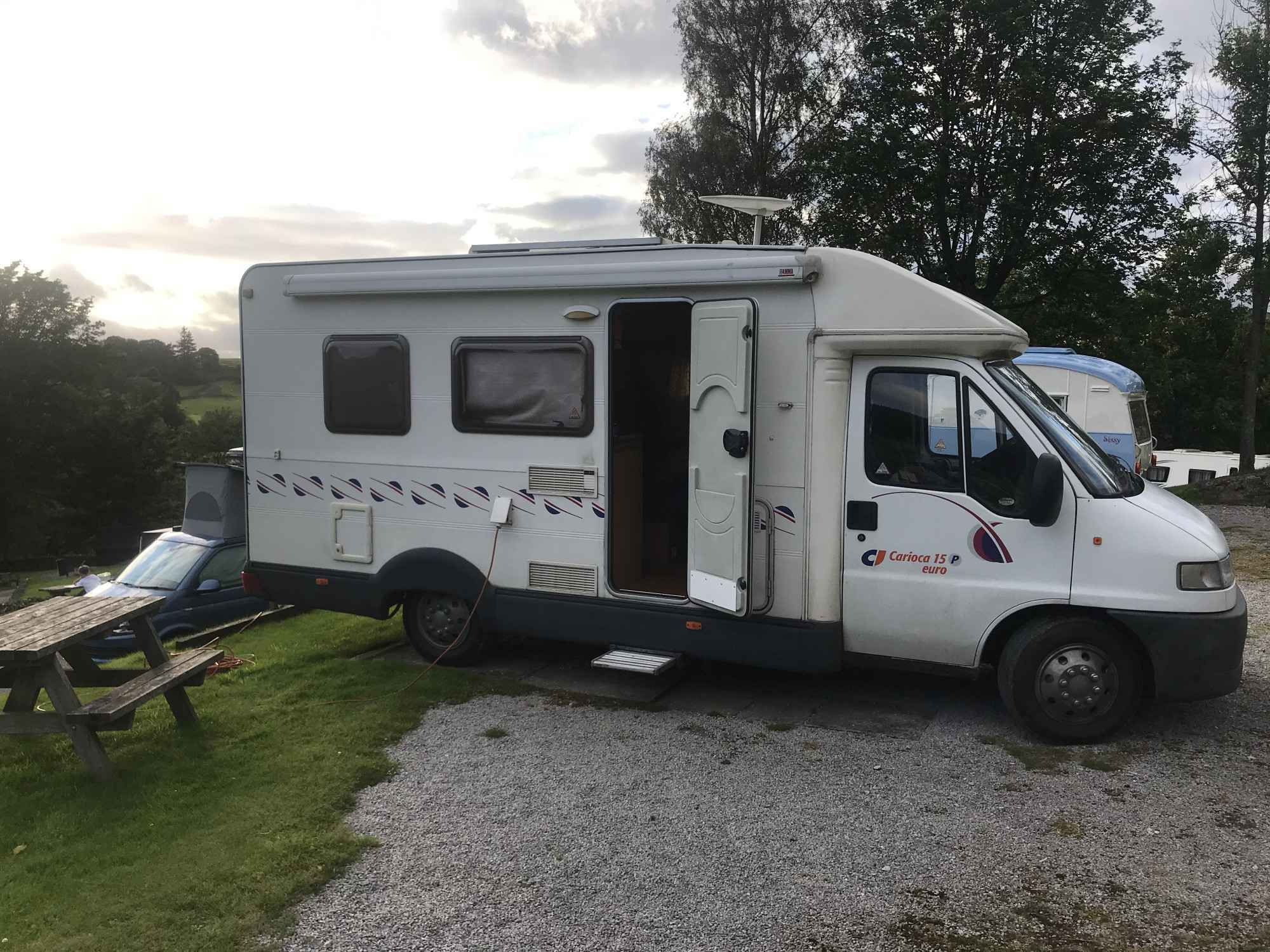 A Ci Motorhome called Dozza and for hire
