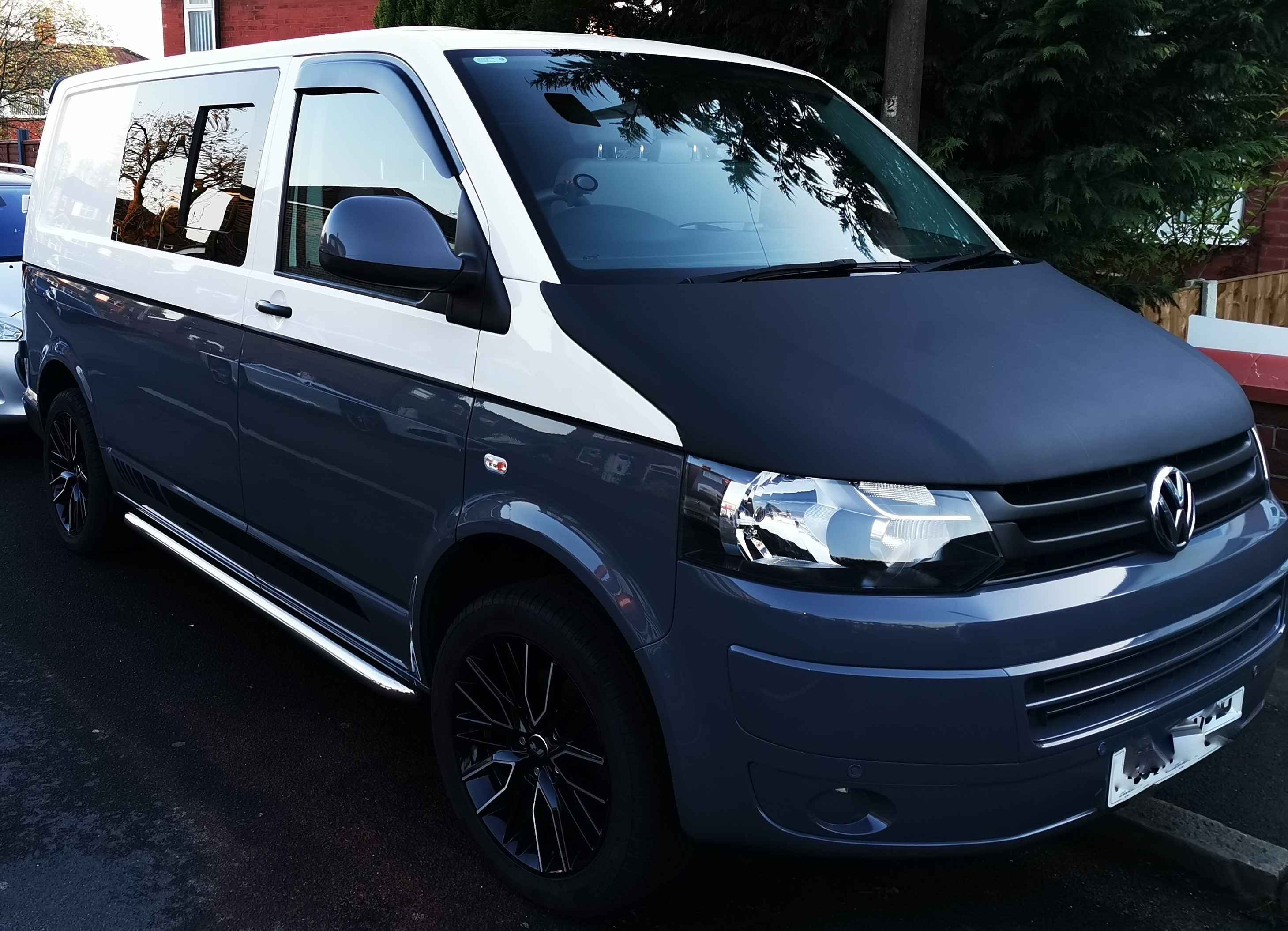 A VW T5 Campervan called Vinny and for hire in Lancashire, Greater Manchester