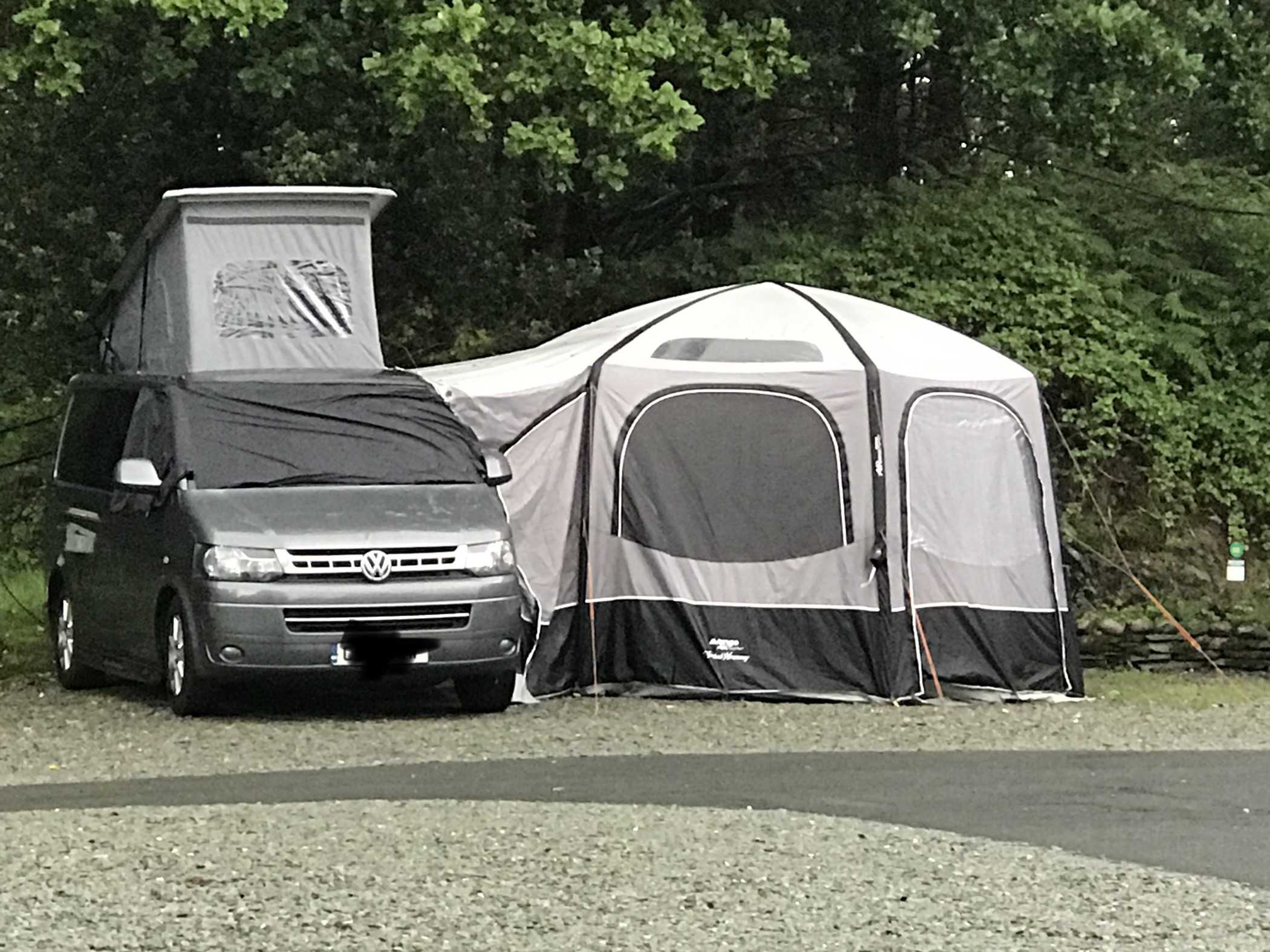 A VW T5 Campervan called Pablo and for hire in York, East Yorkshire