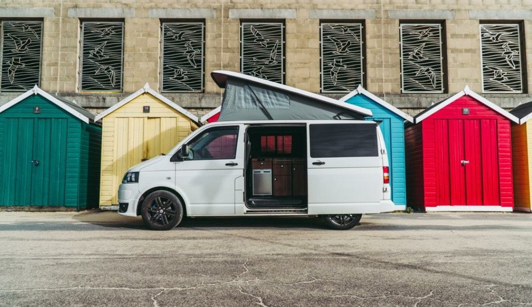 A VW T5 Campervan called Barbarella and for hire in BOURNEMOUTH, Dorset