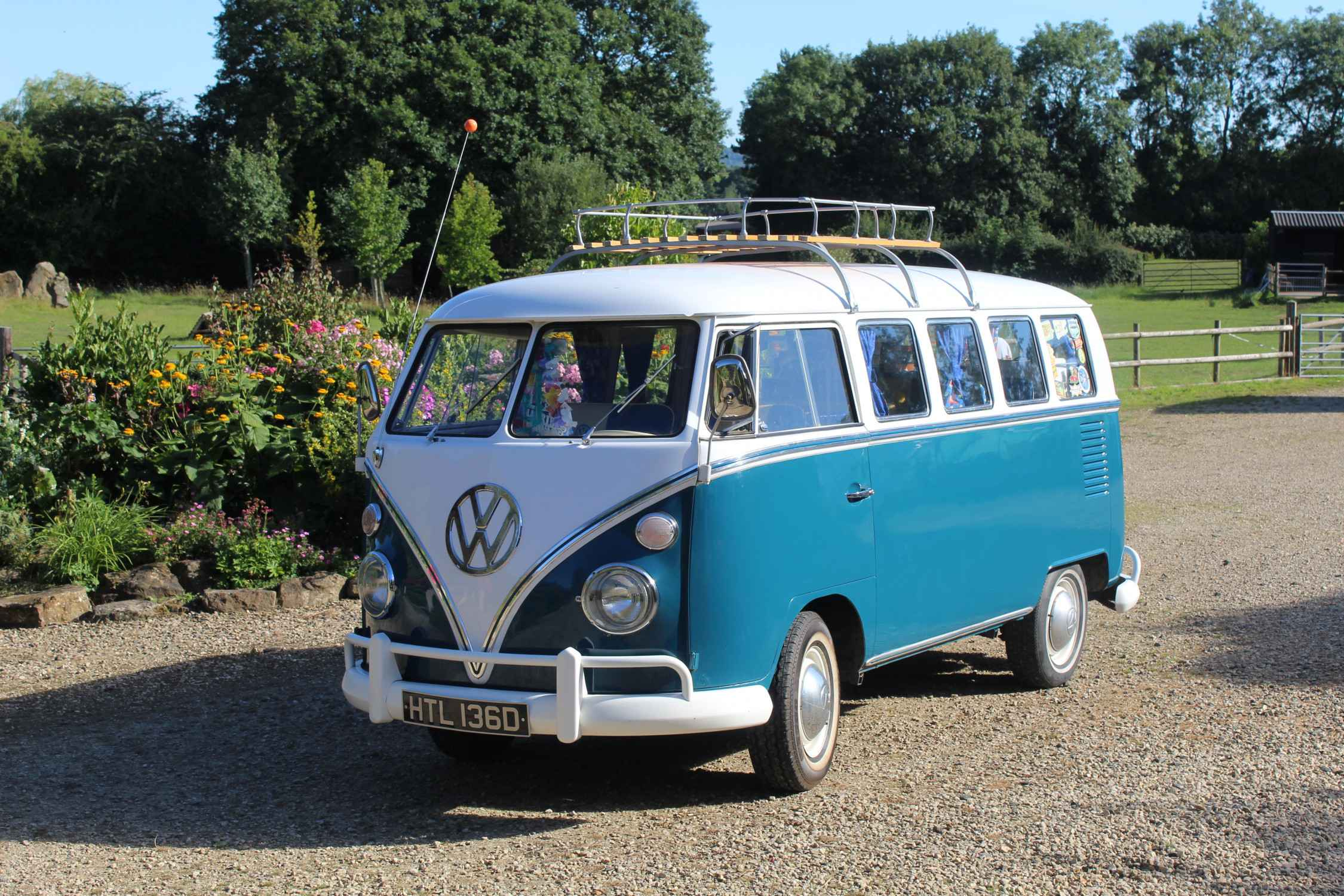 A VW T1 Splitscreen Campervan called Alfie-The-Splitty and for hire in worcestershire, Worcestershire