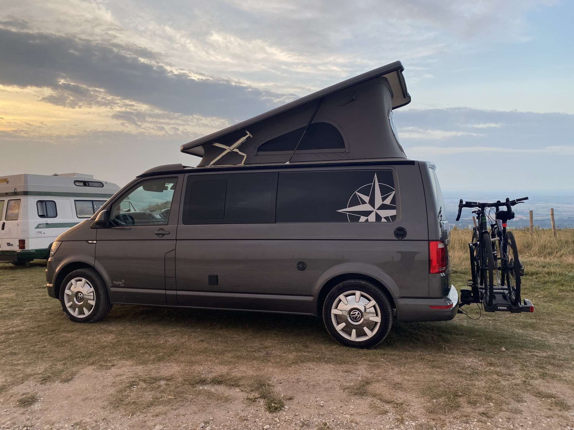 A VW T6 Campervan called Lily and for hire in Batley , West Yorkshire