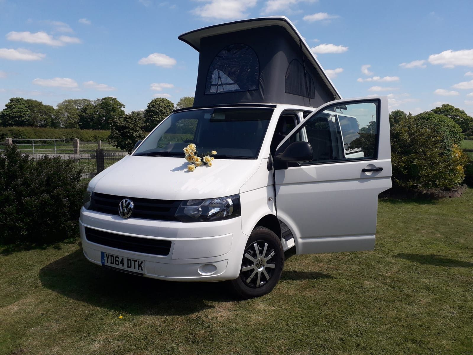 A VW T5 Campervan called WilmaT5 and for hire in Middlewich, Cheshire