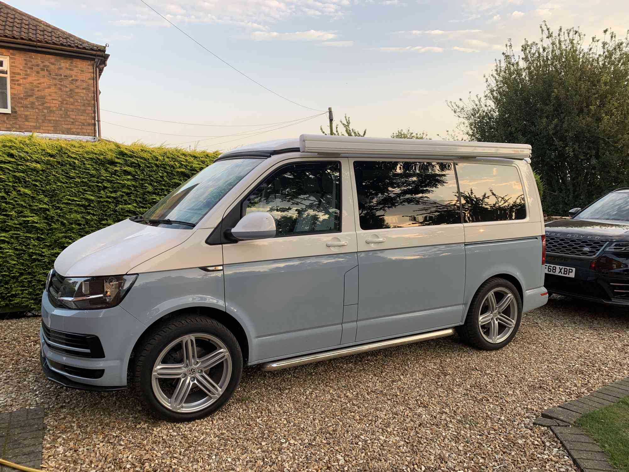 A VW T6 Campervan called Penelope and for hire