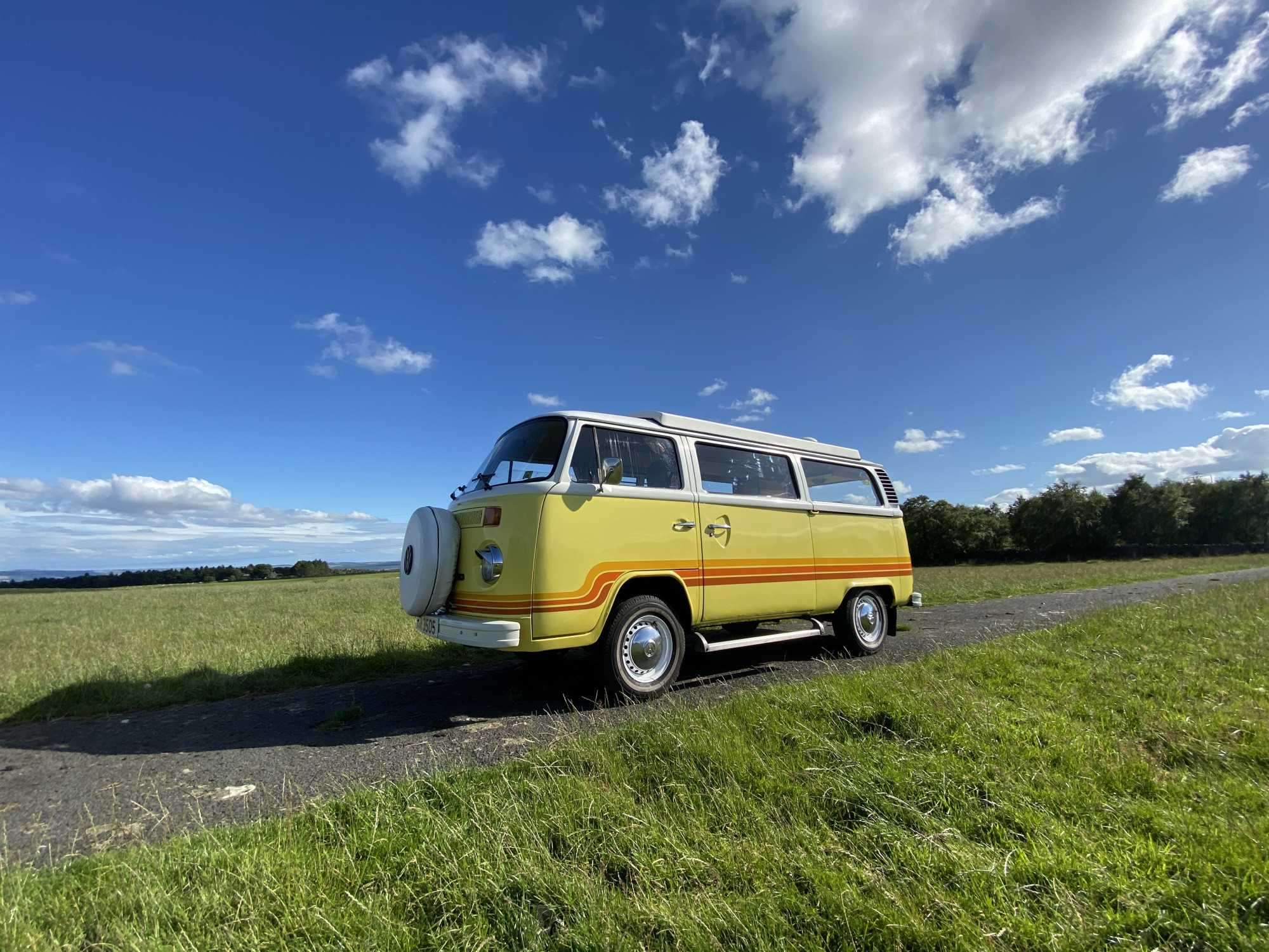 A VW T2 Classic Campervan called Oswald and for hire in Acomb - Hexham, Northumberland