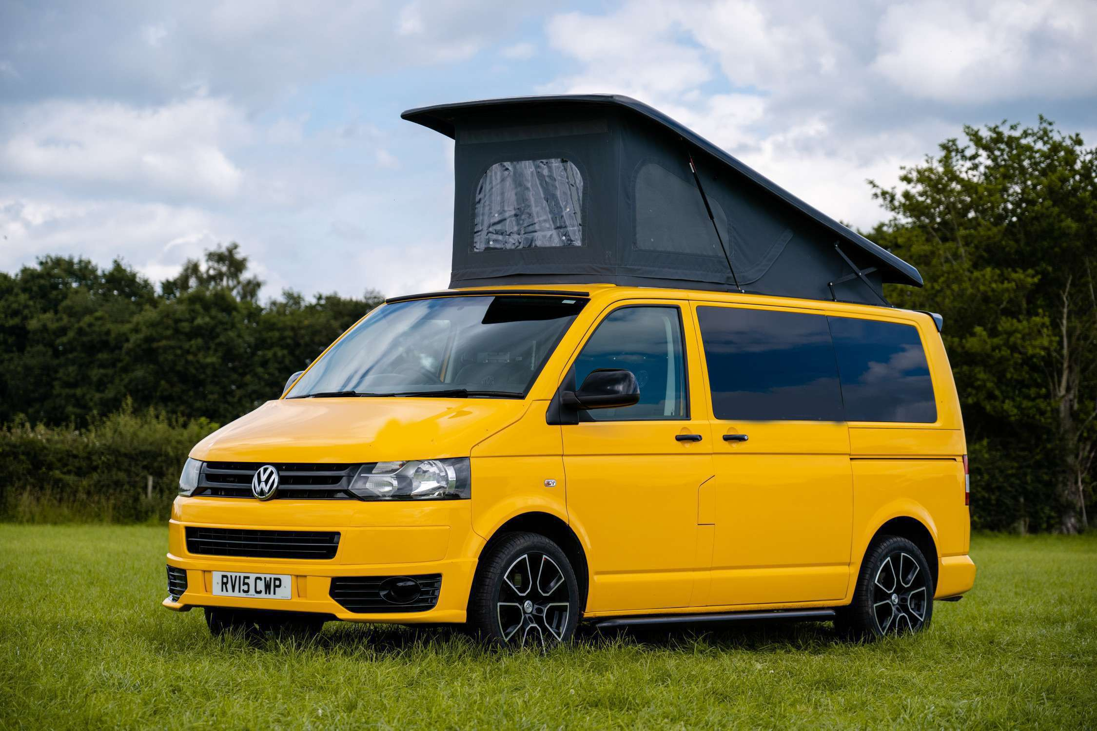 A VW T5 Campervan called Fred and for hire in Middlewich, Cheshire