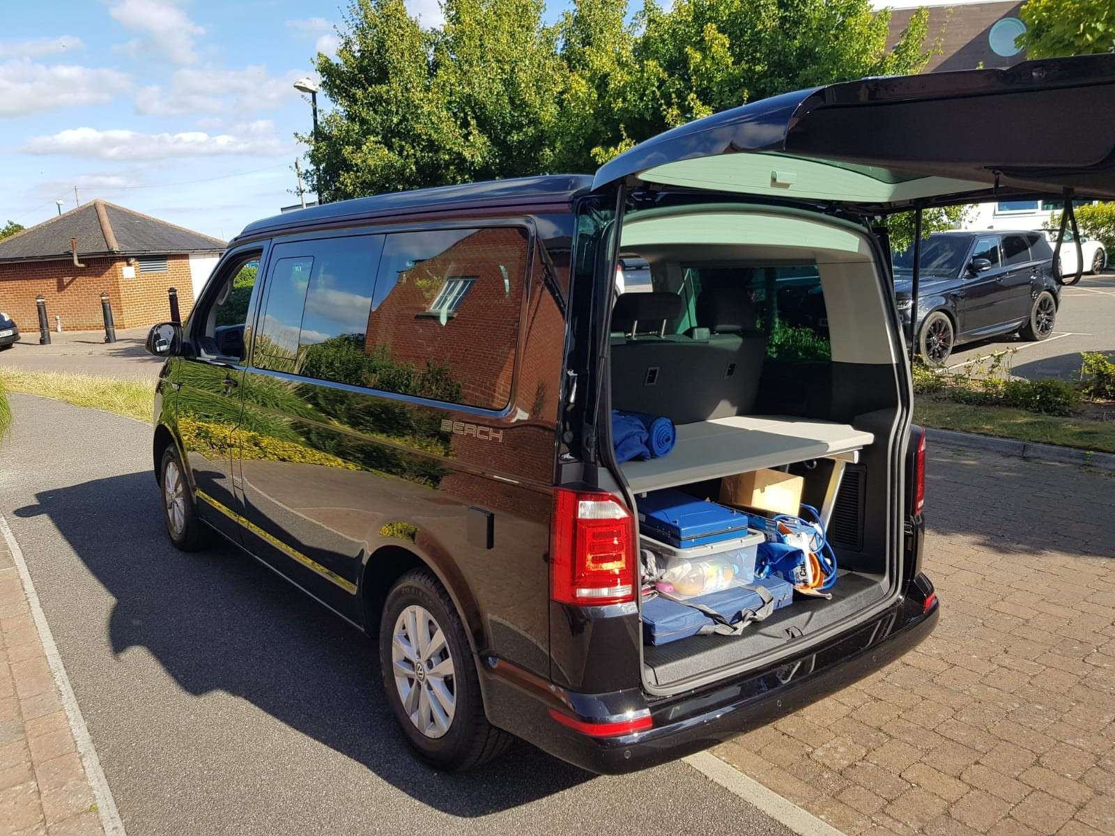 A VW T6 California Campervan called Rocky-Beach and for hire in dorset, Dorset