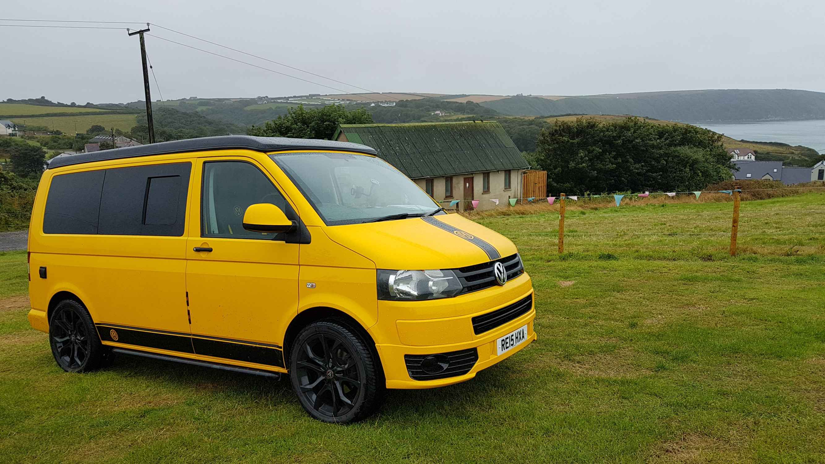 A VW T5 Campervan called Wolfie and for hire in Derbyshire, Derbyshire